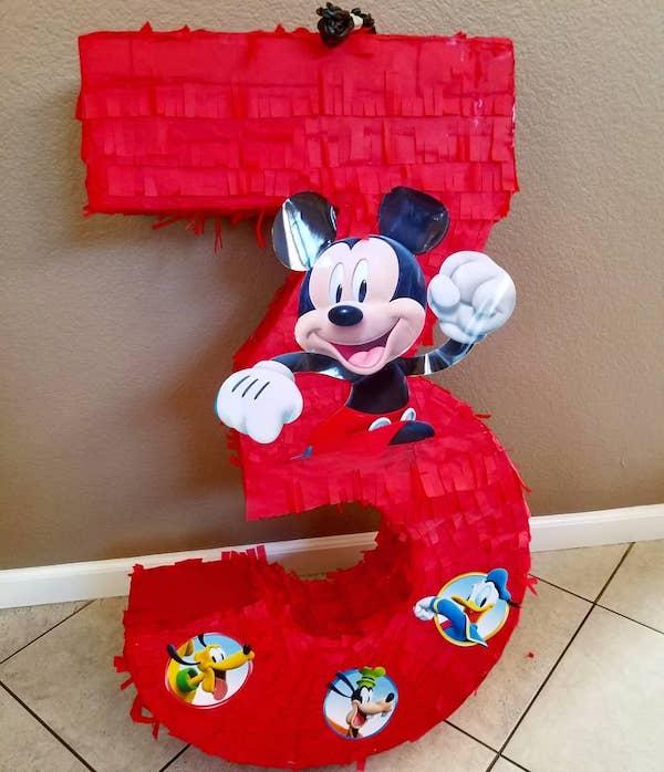 piñatas de mickey mouse y sus amigos
