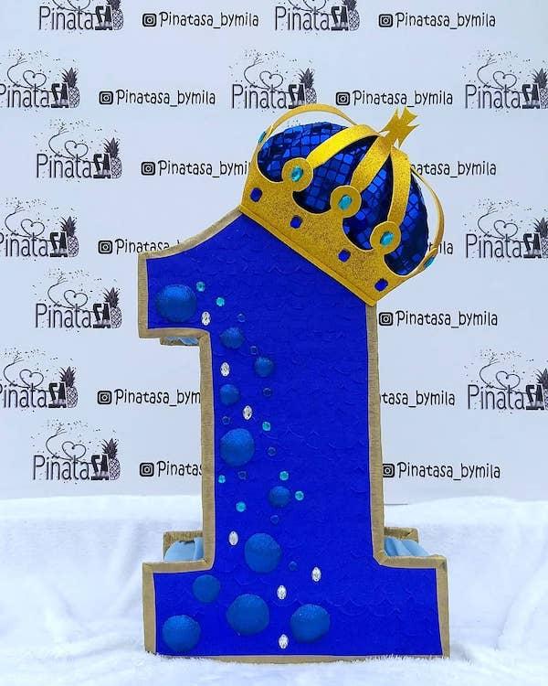 piñatas de numeros 1 principe