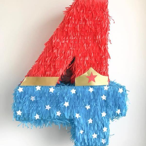 piñatas de numeros 4