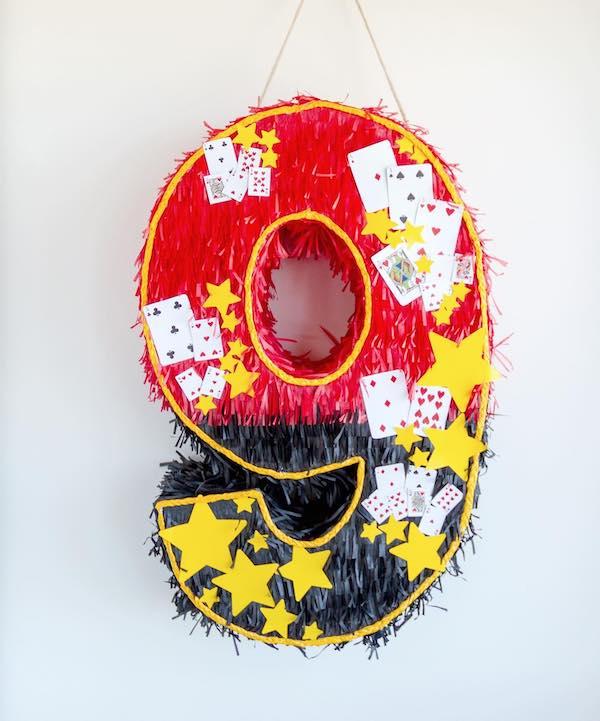 piñatas de numeros 9