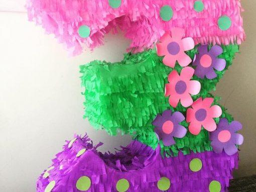 piñatas de números para ninos