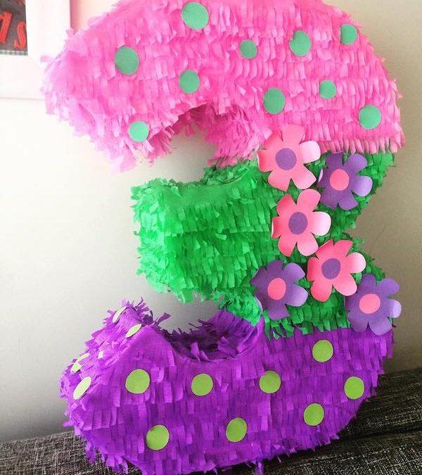 Piñatas de números
