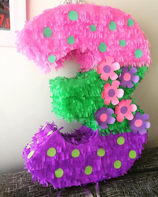 piñatas de numeros para ninos