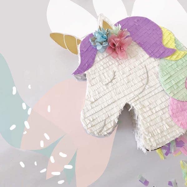 pinatas de unicornio bonitas