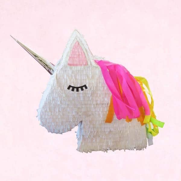pinatas de unicornio cabeza