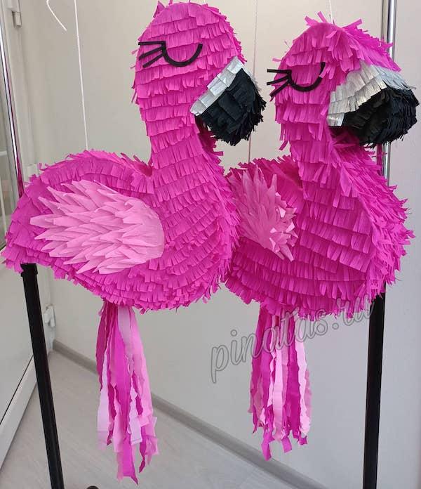 Decoracion de fiesta de flamingo