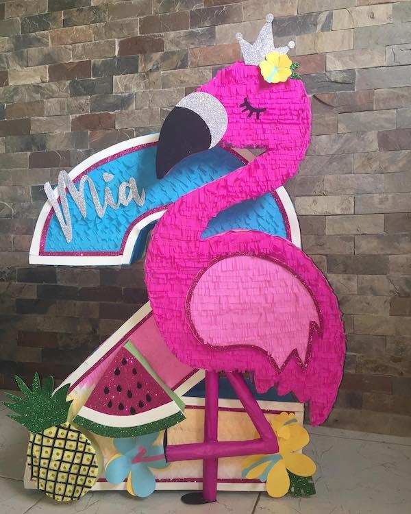 Decoracion de flamingo