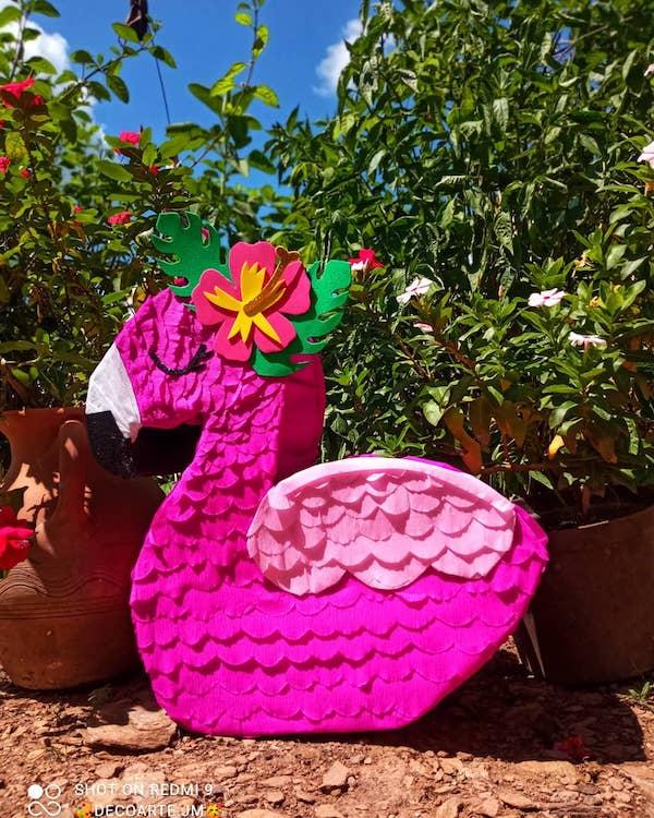 Figura flamenco decoracion