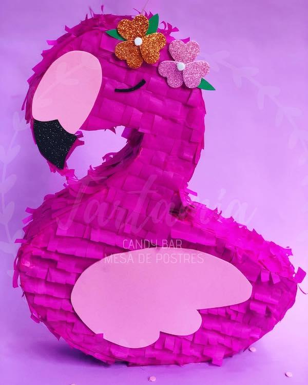como hacer una pinata de flamingo paso a paso