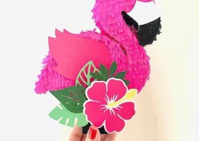 pinatas de flamingo