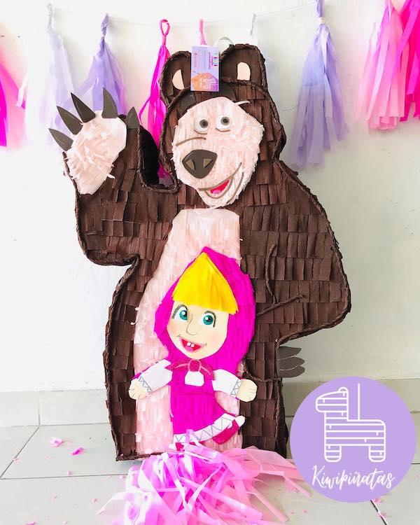 pinatas de masha y el oso en guadalajara