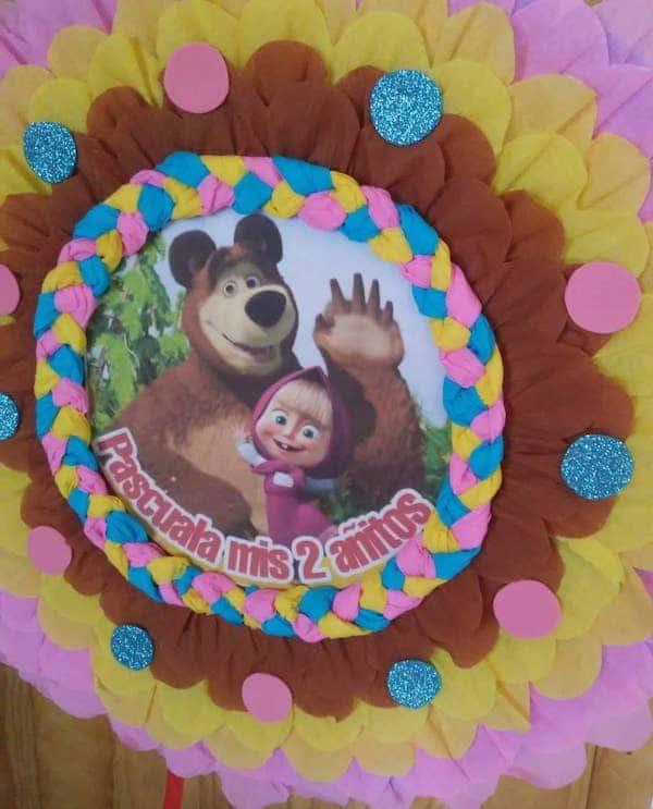 pinatas de masha y el oso numero 3